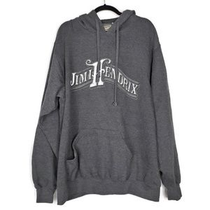 Jimi Hendrix Authentic ODM Gray Hoodie XXL